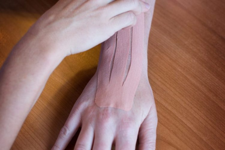 Central Victorian Hand Therapy - Kineseotape can assist with swelling