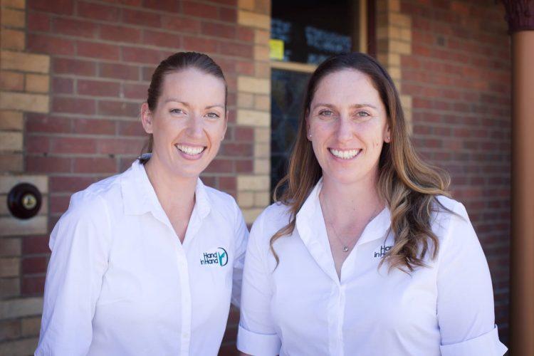 Central Victorian Hand Therapy Staff - Susie Ellis & Janelle Kilcullen